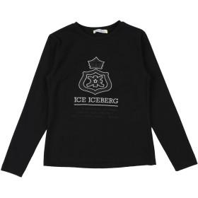 《期間限定セール開催中!》ICE ICEBERG ガールズ 3-8 歳 T シャツ ブラック 8 コットン 90% / ポリウレタン 10%