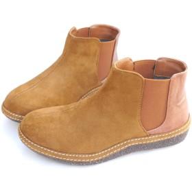 [ysp-jpn] ブーツ ブーティ サイドゴア 異素材 定番(3-2F.C) ローヒール SC-12511