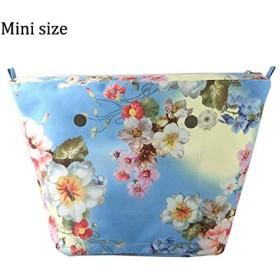 SONAクラシックのミニカラフルなインナー挿入裏地ジッパー防水ポケット obag o バッグ EVA 女性ハンドバッグアクセサリーハンドバッグ