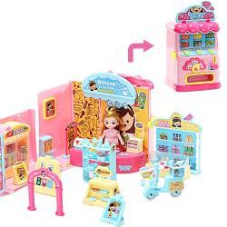 【孩子國】韓版迷你娃娃屋系列- 超市量販機 /家家酒玩具