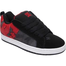 [ディーシーシュー] シューズ スニーカー Court Graffik SE Black/Red/メンズ [並行輸入品]