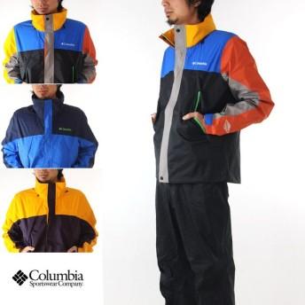 Columbia コロンビア Columbia ジャケット グラスバレーレインスーツ M0003 メンズ