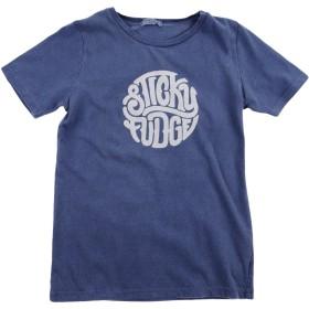 《セール開催中》STICKY FUDGE ボーイズ 3-8 歳 T シャツ ブルーグレー 7 コットン 100%