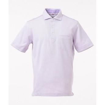 【SALE(伊勢丹)】<23区HOMME> ALBINI CORCORAN クールドライ ポロシャツ(KHNSKM0401) ライラック【三越・伊勢丹/公式】
