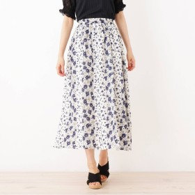 DRESKIP フラワーギャザースカート