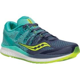 [サッカニー] シューズ スニーカー Freedom ISO 2 Running Shoe Grey/Teal レディース [並行輸入品]