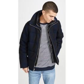 ベリーウォーム The Very Warm メンズ ダウン・中綿ジャケット アウター Crosby Puffer Jacket Blue Plaid