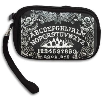 ひどい墓警備員の夜 小さい財布 小銭入れ カード収納 メンズ ミニ財布 コンパクト財布