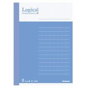 ロジカル FSC-MXノート COC-ノ-A601B ブルー A6/B罫/50枚