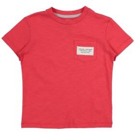 《セール開催中》SHOESHINE ボーイズ 3-8 歳 T シャツ レッド 4 コットン 100%