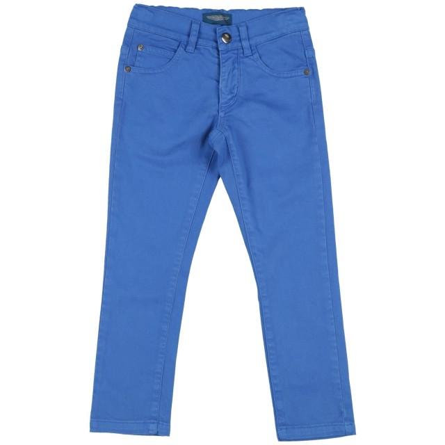 《セール開催中》ASTON MARTIN ボーイズ 3-8 歳 パンツ ブルー 6 コットン 98% / ポリウレタン 2%