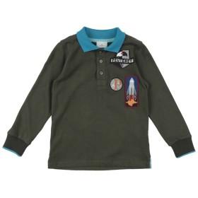 《期間限定セール開催中!》PEUTEREY ボーイズ 3-8 歳 ポロシャツ ミリタリーグリーン 6 コットン 100%