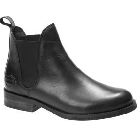 [ハーレーダビッドソン] シューズ ブーツ・レインブーツ Delano Chelsea Boot Black Full レディース [並行輸入品]