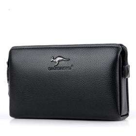 AYATR財布ハンドバッグメンズクラッチバッグパスワードロックメンズウォレットビジネスカジュアル盗難防止ウォレットクラッチ携帯電話バッグ男性財布カードホルダーウォレ