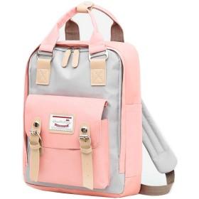 旅行用バックパックカジュアルで大容量のラップトップバックパック学生用バックパック、USB充電ポート付き (A)
