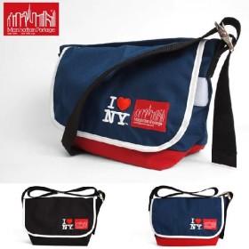 マンハッタンポーテージ Manhattan Portage ヴィンテージ メッセンジャーバッグ 1606VJRINY I LOVE NY Embroidery Manhattan Portage メンズ