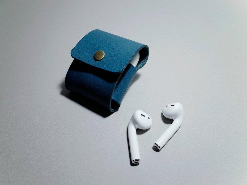 義大利植鞣革 / AirPods 皮革保護套 / 耳機皮套 客製