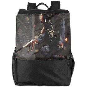 ファッションバックパック スパイダーマン デイリーリュック 軽量 個性 大容量 多機能 トラベルバッグ