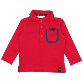 《期間限定セール開催中!》DANIELE ALESSANDRINI ボーイズ 0-24 ヶ月 ポロシャツ レッド 6 コットン 95% / ポリウレタン 5%
