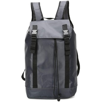 メンズバッグ バッグ男性旅行防水バックパック多機能大容量カジュアルファッションの旅行ショッピングバッグ レザーバッグ (Color : Black, Size : S)