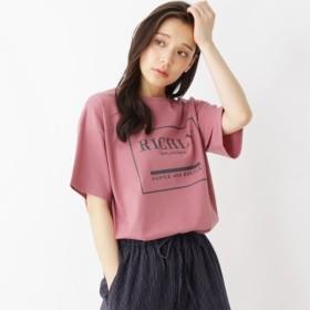 [マルイ] 【汗対策】ポリコットンコクーンロゴTシャツ/シューラルー(レディス)(SHOOLARUE Ladies)