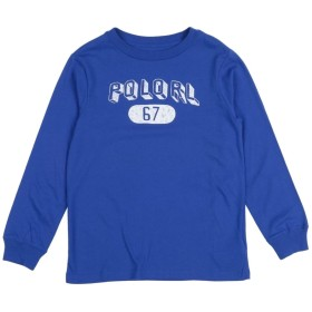 《セール開催中》RALPH LAUREN ボーイズ 3-8 歳 T シャツ ブライトブルー 6 コットン 100%