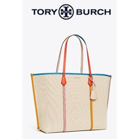 TORY BURCH トリーバーチPERRY CANVAS OVERSIZED TOTE 56247
