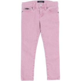 《期間限定セール開催中!》RALPH LAUREN ガールズ 3-8 歳 ジーンズ ピンク 5 コットン 91% / エラステレル-p 7% / ポリウレタン 2% Tompkins Skinny Fit Jean