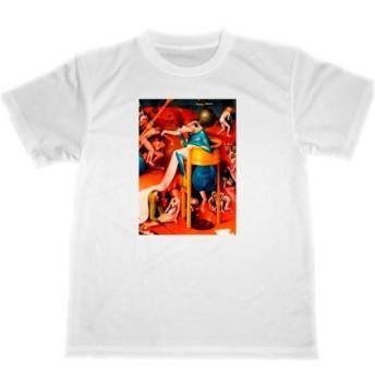 ヒエロニムス・ボス ドライ Tシャツ アート 名画 絵画 グッズ 快楽の園 部分