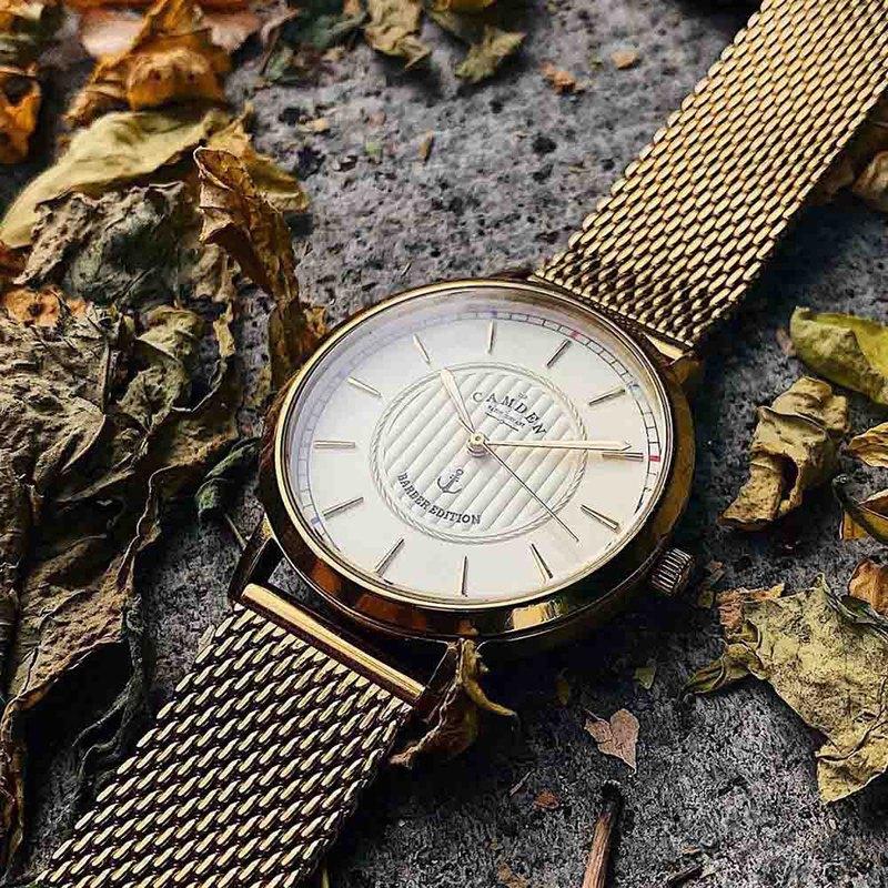 Camden Watch X倫敦知名理髮師Frank Rimer跨界合作聯名限量腕錶