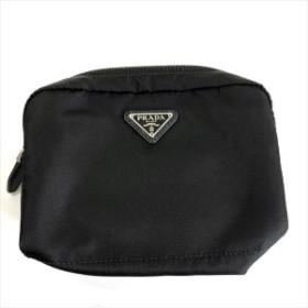 PRADA プラダ ポーチ コスメポーチ 37102 黒 ブラック シンプル