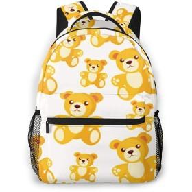 リュック バック クマおもちゃ子供, リュックサック ビジネスリュック メンズ レディース カジュアル 男女兼用大容量 通学 旅行 鞄 カバン