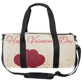 トートバッグ ショルダーバッグ ボストンバッグ バレンタインデーが大好き アウトドアー トラベル ビジネス 大容量 多機能 オシャレ