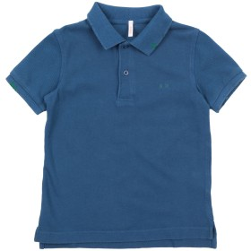 《期間限定セール開催中!》SUN 68 ボーイズ 3-8 歳 ポロシャツ ダークブルー 8 コットン 100%