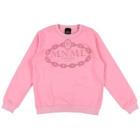 《セール開催中》MNML COUTURE ガールズ 9-16 歳 スウェットシャツ ピンク 10 コットン 100%