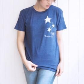 おとなのTシャツ よるのおわり ネイビー