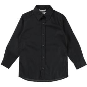 《期間限定セール開催中!》26.7 TWENTYSIXSEVEN ボーイズ 3-8 歳 シャツ ブラック 4 コットン 97% / ポリウレタン 3%