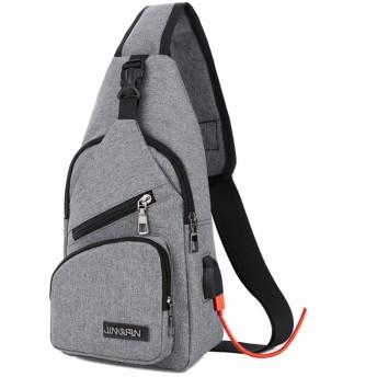 ショルダーバッグ 斜めがけ ボディバッグ 軽量 防水 大容量 iPad mini収納可能 多機能 メンズ レディース レジャー パック