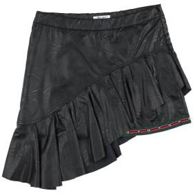 《期間限定セール開催中!》GAIALUNA ガールズ 9-16 歳 スカート ブラック 10 ポリウレタン 100%