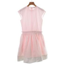 CARVEN  / カルヴェン レディース ワンピース 色:ピンク系x白系 サイズ:36(XS位)