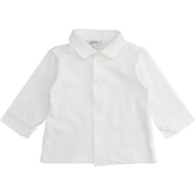 《セール開催中》ALETTA ボーイズ 0-24 ヶ月 シャツ ホワイト 6 コットン 94% / ポリウレタン 6%