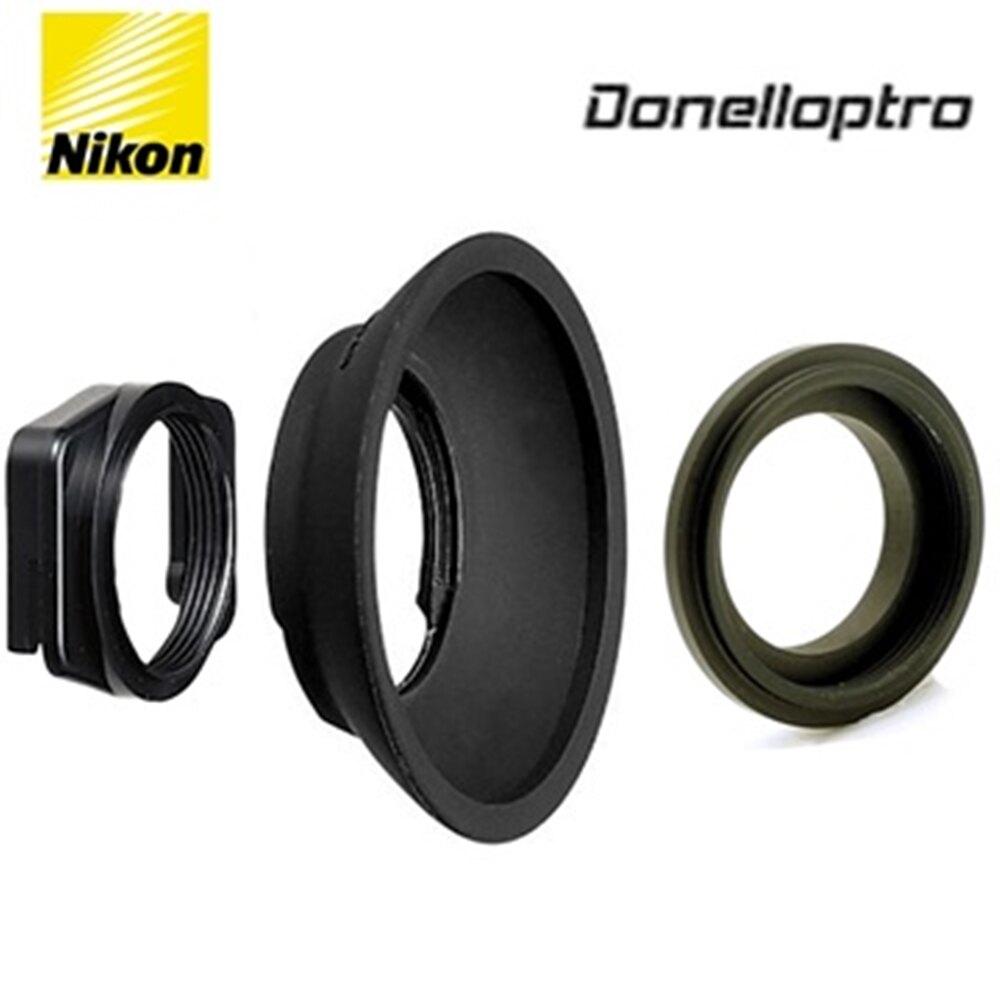 又敗家@原廠尼康DK-22方形轉圓形轉接座+多尼爾轉接環DK2217+原廠尼康DK3橡膠眼罩可遮光舒適FM10 F80 F75 F70 F65 F60 F55 F50 D780 D750 D610 D