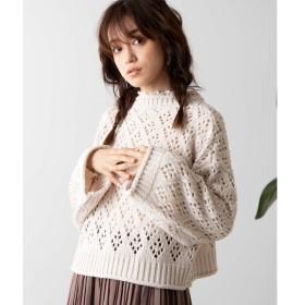 [マルイ] 透かし編みセーター/ウィゴー(レディース)(WEGO)