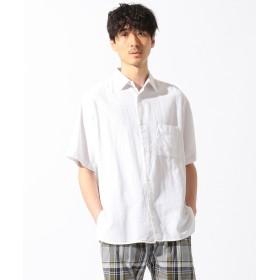 SHARE PARK MENS(シェアパークメンズ)/【洗える】パナマレギュラーカラー半袖 シャツ