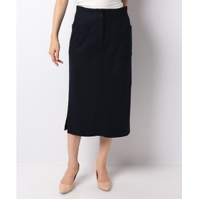 <LA JOCONDE>【セットアップ対応】カノコジャージー スカート ネービーブルー【三越・伊勢丹/公式】