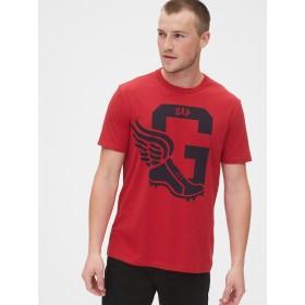 Gap Gapアスレチックロゴ クルーネックTシャツ
