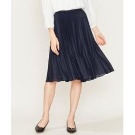 【組曲:スカート】【洗える】プラチナプリーツアムンゼン スカート