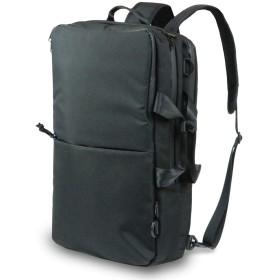 VORQIT(ボルチット) ビジネスリュック コーデュラ生地 メンズ 3way 大容量 ビジネスバッグ 撥水 15.6インチ PC (ブラック)