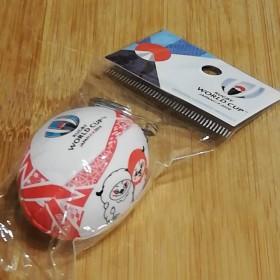 ラグビーワールドカップ ワールドカップラグビー オフィシャルグッズ ボールキーホルダー レンジー