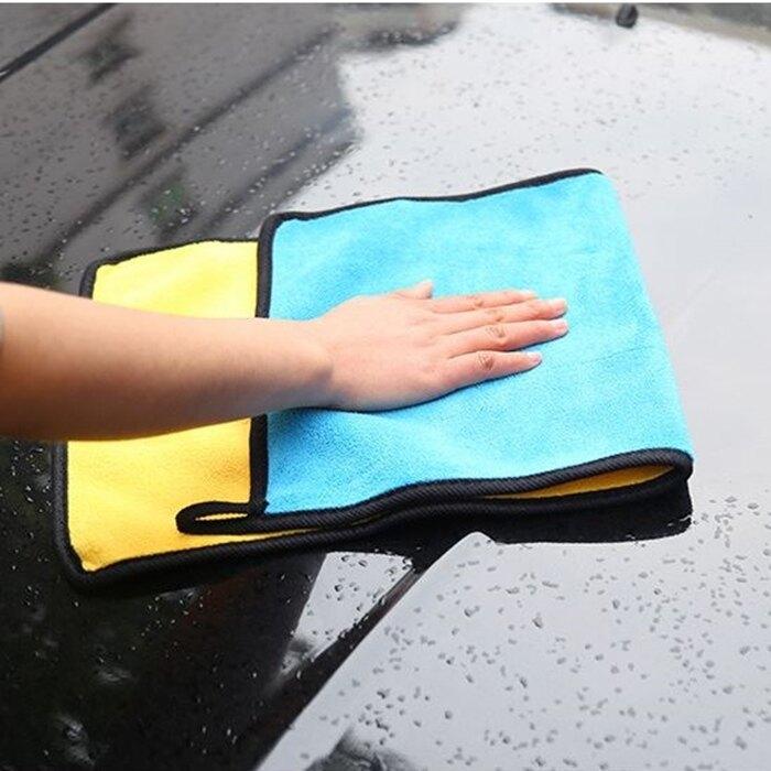 [Hare.D] 加厚型 30*30 擦車毛巾 洗車毛巾 超細纖維 吸水力強 玻璃布 內裝毛巾 擦內裝